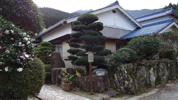 南方熊楠が三年間暮らした大阪屋旅館