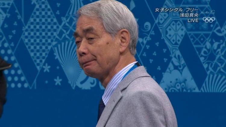 佐藤信夫コーチの目にも光るものがあった