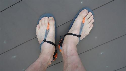 ※横浜マラソンで作った黒爪が見苦しいのでイラスト風に加工してあります